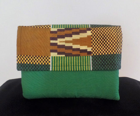 Tribal Inspired Clutch - Ankara Boutique