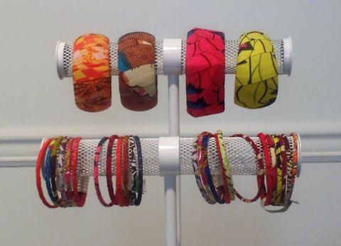 Assorted Bold Bangles - Ankara Boutique