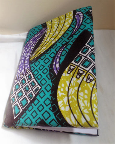 Green Notepad - Ankara Boutique