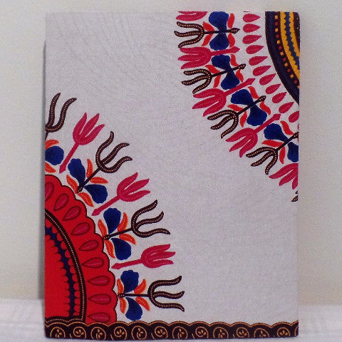 Pink & White Dashiki Print Home/Wall Decor - Ankara Boutique