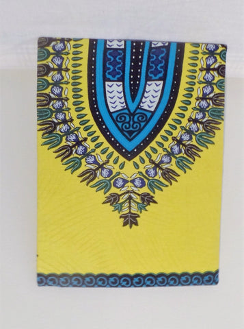 Yellow and Blue  Dashiki Print Home/Wall Decor - Ankara Boutique