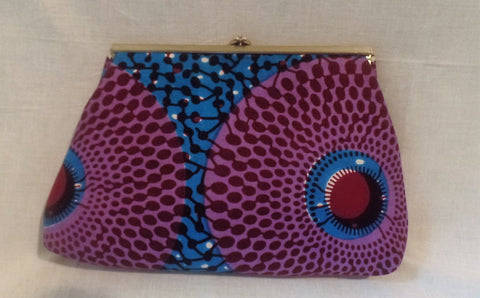 Vintage Ankara Clutch Bag - Ankara Boutique