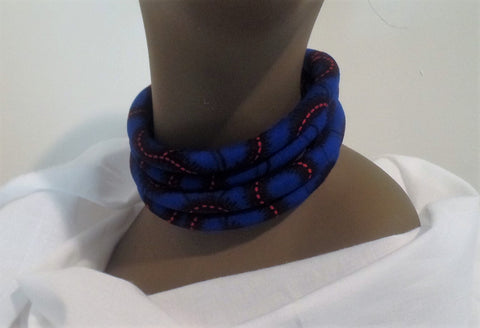 Ankara/African Print Neck Ring - Ankara Boutique