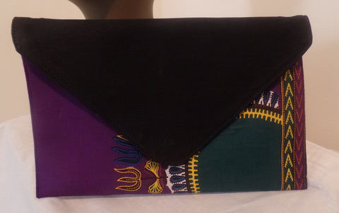 Ankara Envelope Clutch Bag - Ankara Boutique