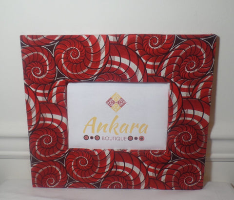 "Ankara Print 5"" x 7' Photo Frame - Ankara Boutique"