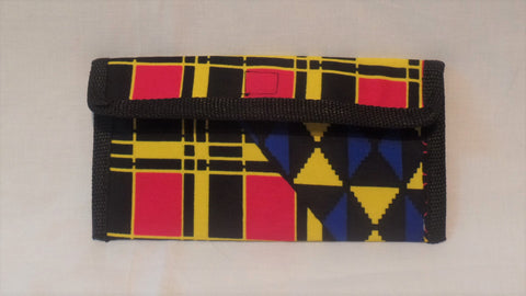 Slim Ankara Wallet - Ankara Boutique