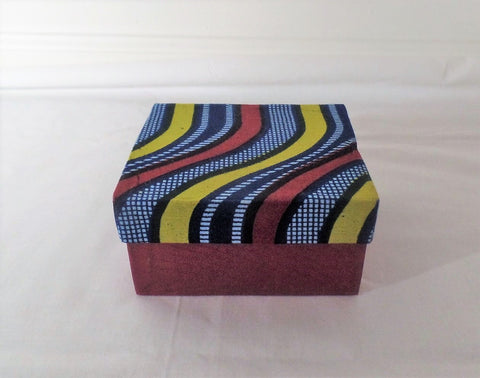 Ankara/African Print Jewelry Box - Ankara Boutique