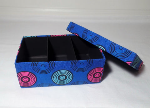 Ankara/African Print Jewelry Box - Medium - Ankara Boutique