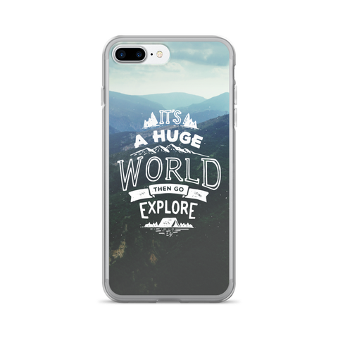 Travel Quote iPhone 7 Plus Case