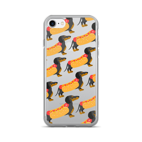 Cute Dachshund iPhone 7 Case