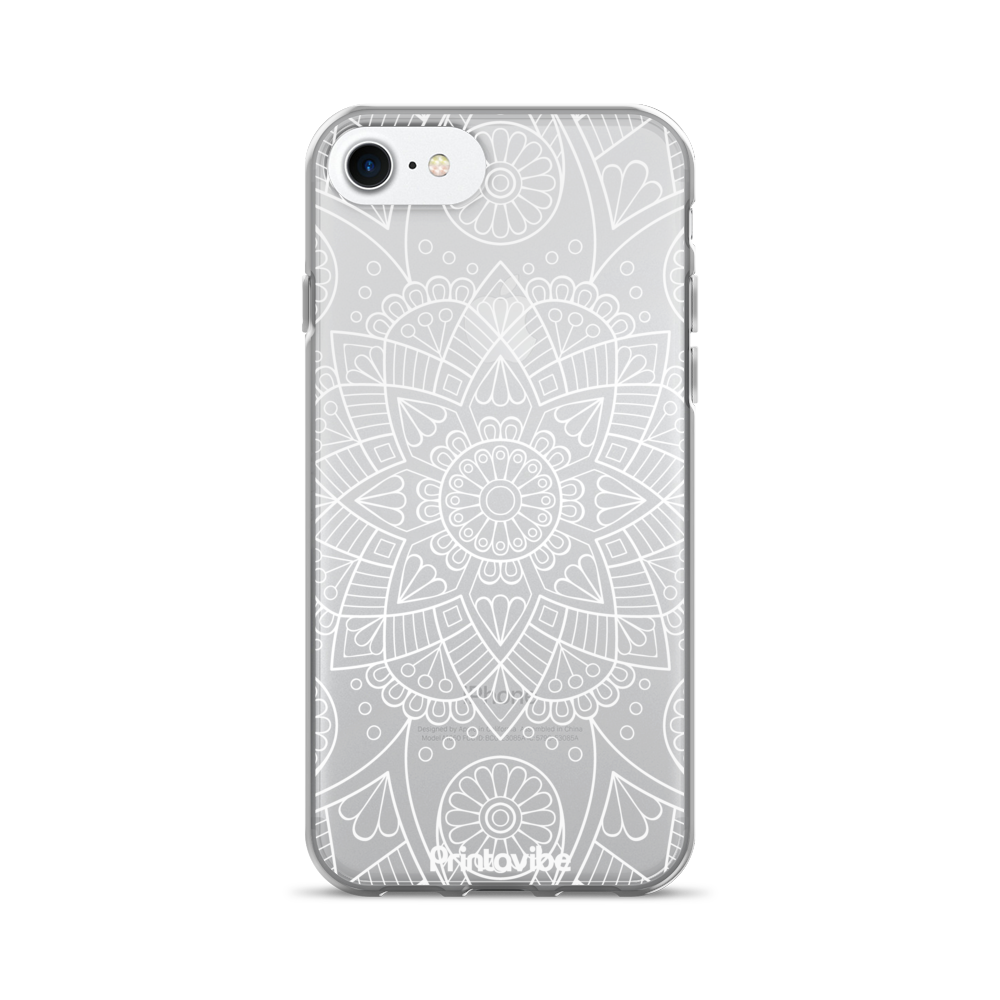 All Over Lace Pattern iPhone Case - Phone Case | Printavibe.com