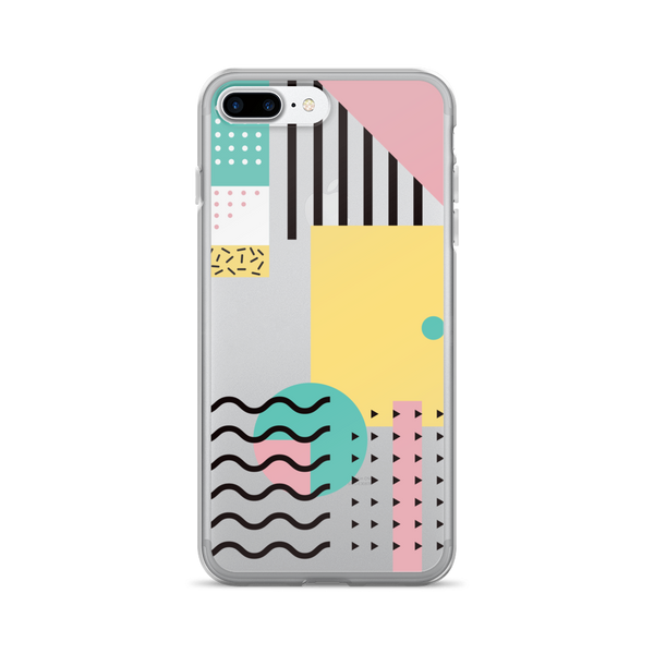 Memphis Pattern iPhone Case