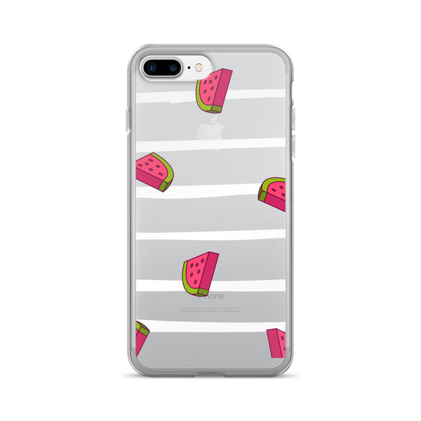 Watermelon Stripe iPhone Case