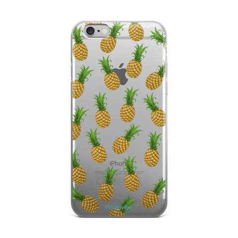 All The Pineapples iPhone Case - Phone Case | Printavibe.com