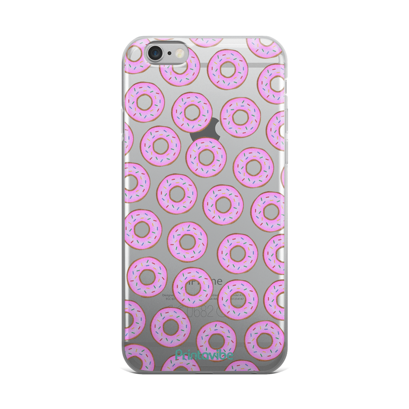 All The Donuts iPhone Case - Phone Case | Printavibe.com