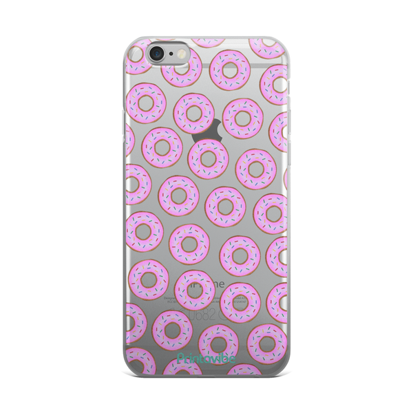 All The Donuts iPhone Case