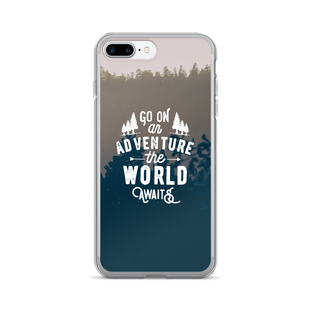 Adventure Quote iPhone Case \u2013 Printavibe