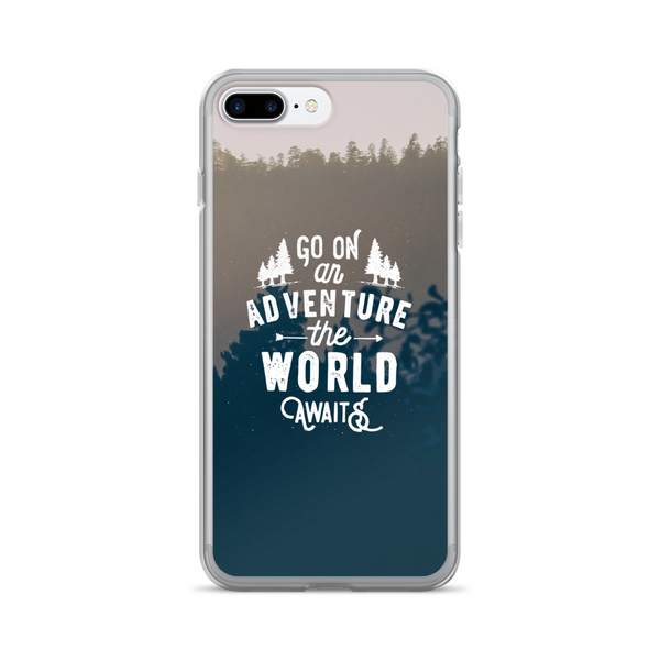 Adventure Quote iPhone Case