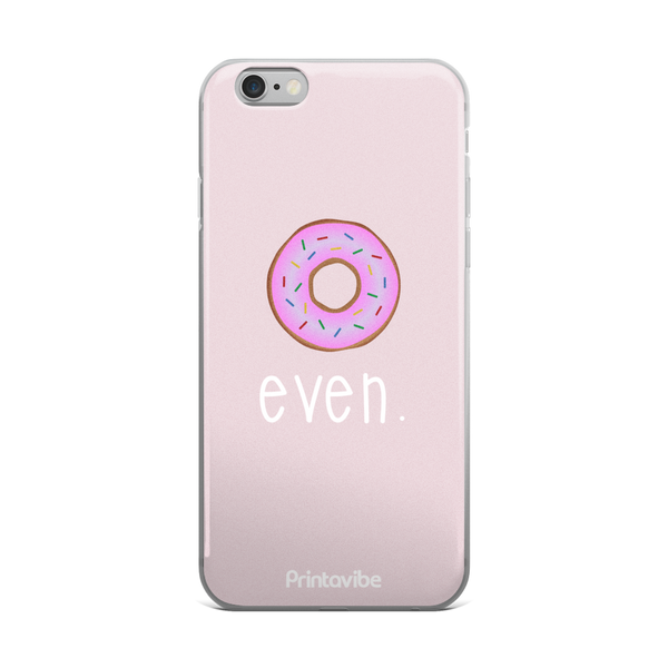 Donut Even iPhone Case