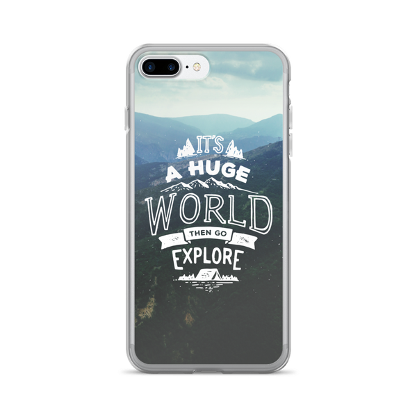 Travel Quote iPhone Case
