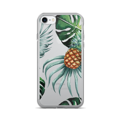 Pineapple Leaves iPhone Case