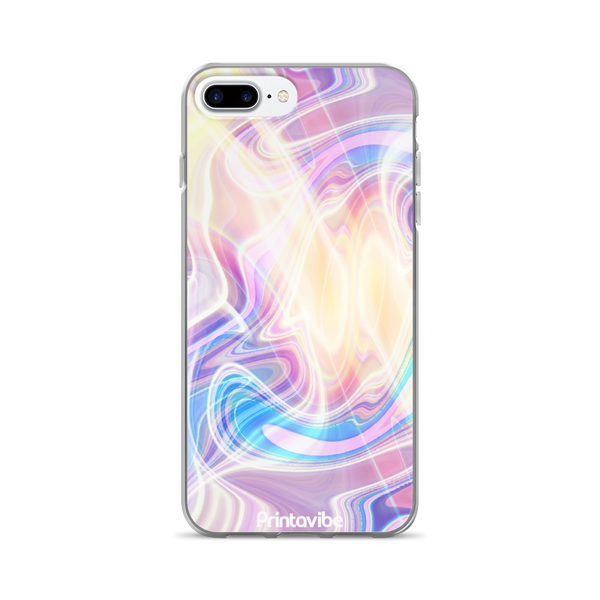 Pastels Marble iPhone Case
