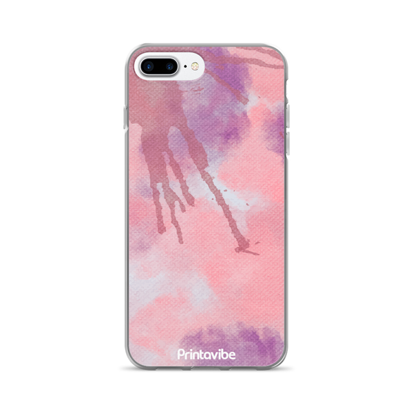 Pink Watercolour iPhone Case