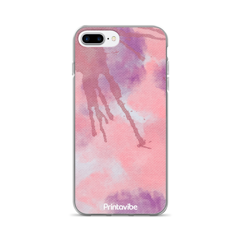 Pink Watercolour iPhone Case - Phone Case | Printavibe.com