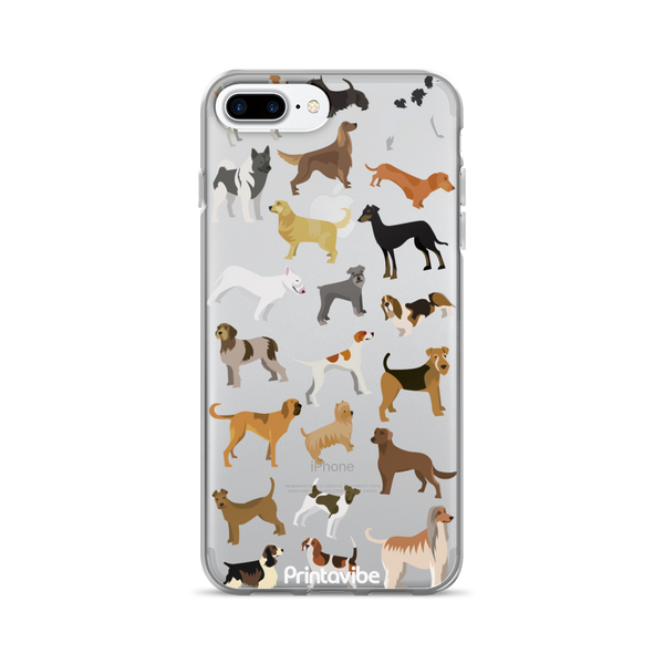All Over Dogs iPhone Case