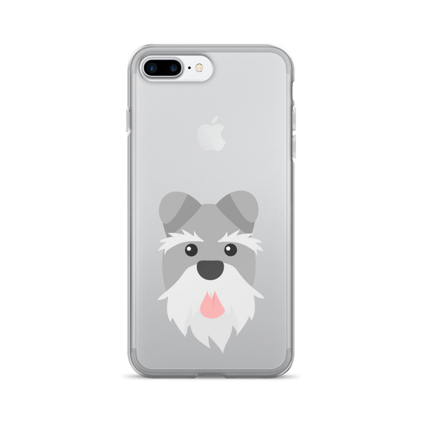 Grey Schnauzer iPhone Case