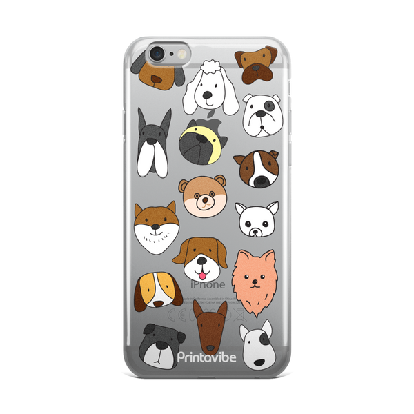 Dog Faces iPhone Case