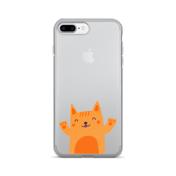 Percy Ginger Cat iPhone Case