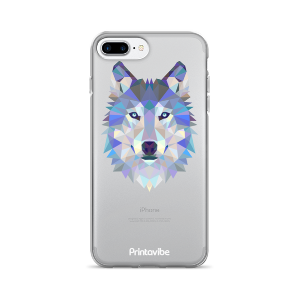 Polygon Wolf iPhone Case