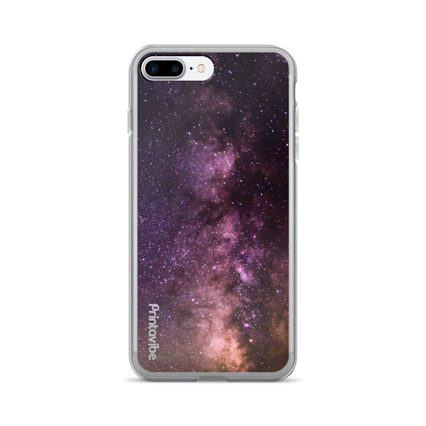 Pink Milky Way iPhone Case