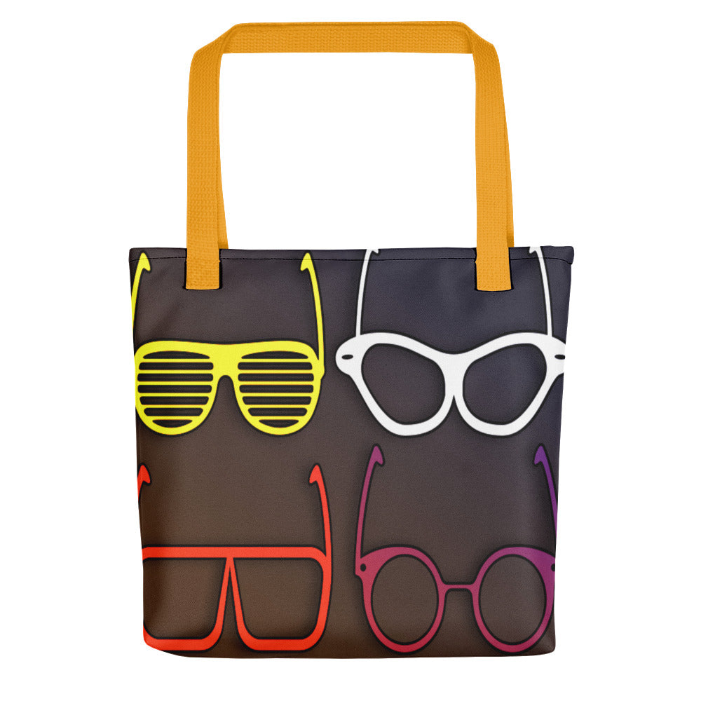 Retro Sunglasses Tote bag