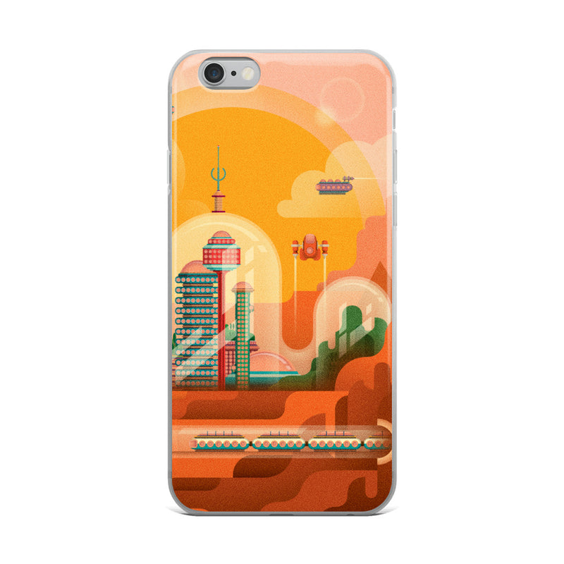 Future Mars Home iPhone Case