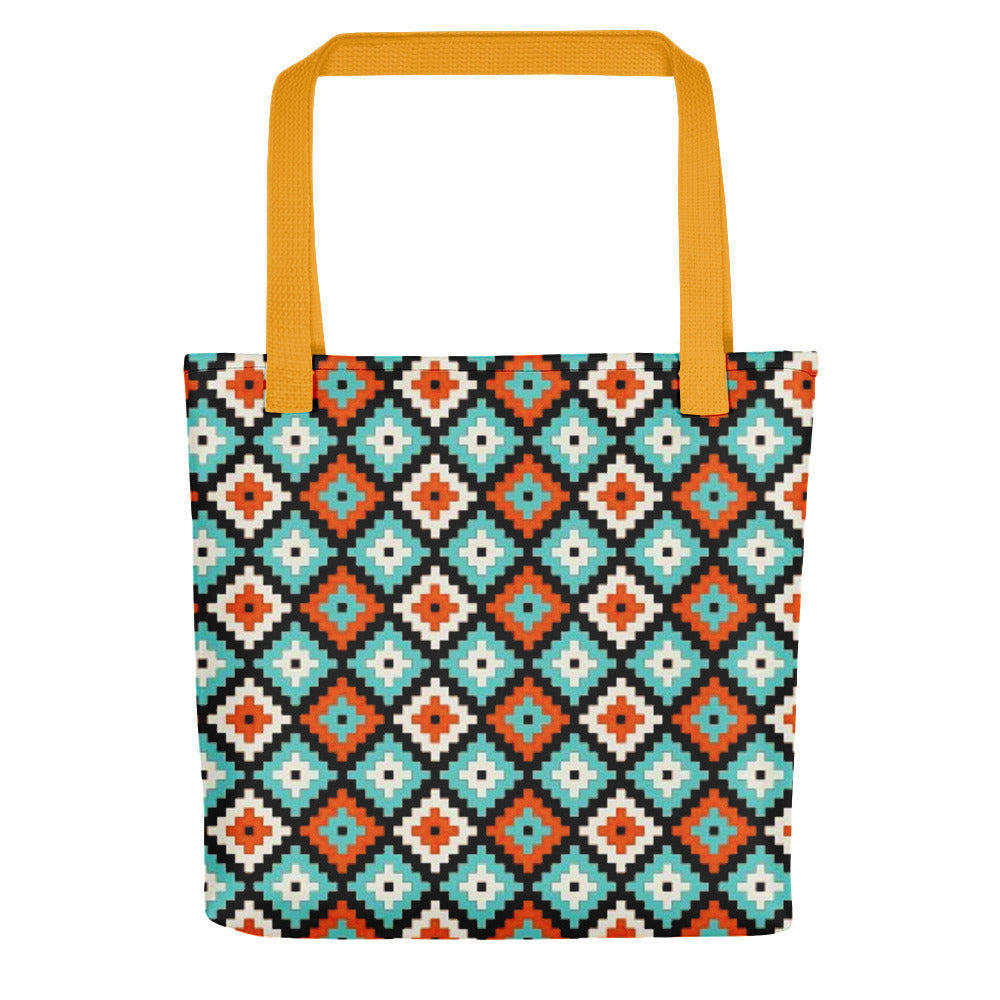 Ikat Pattern Tote bag
