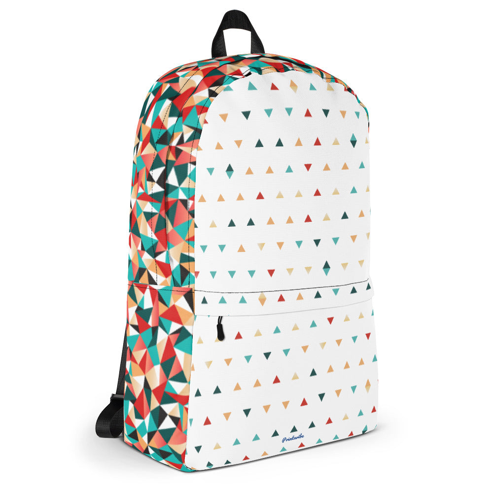 Triangle II Pattern Laptop Backpack