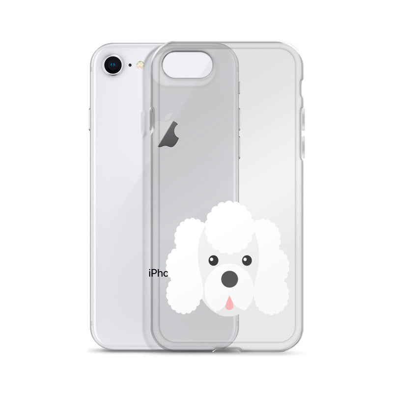 Poodle Priint iPhone Case