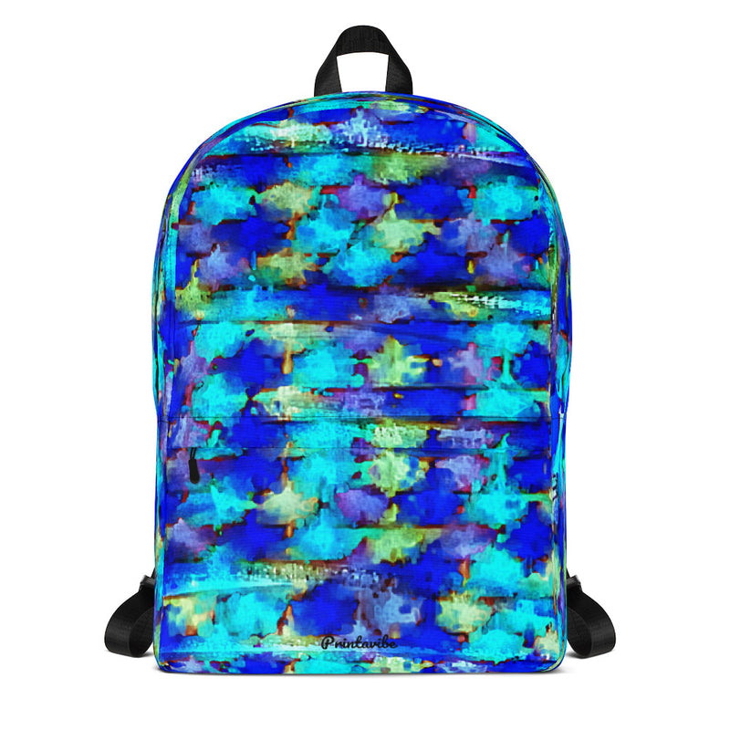 Speed Painting Pattern Laptop Backpack