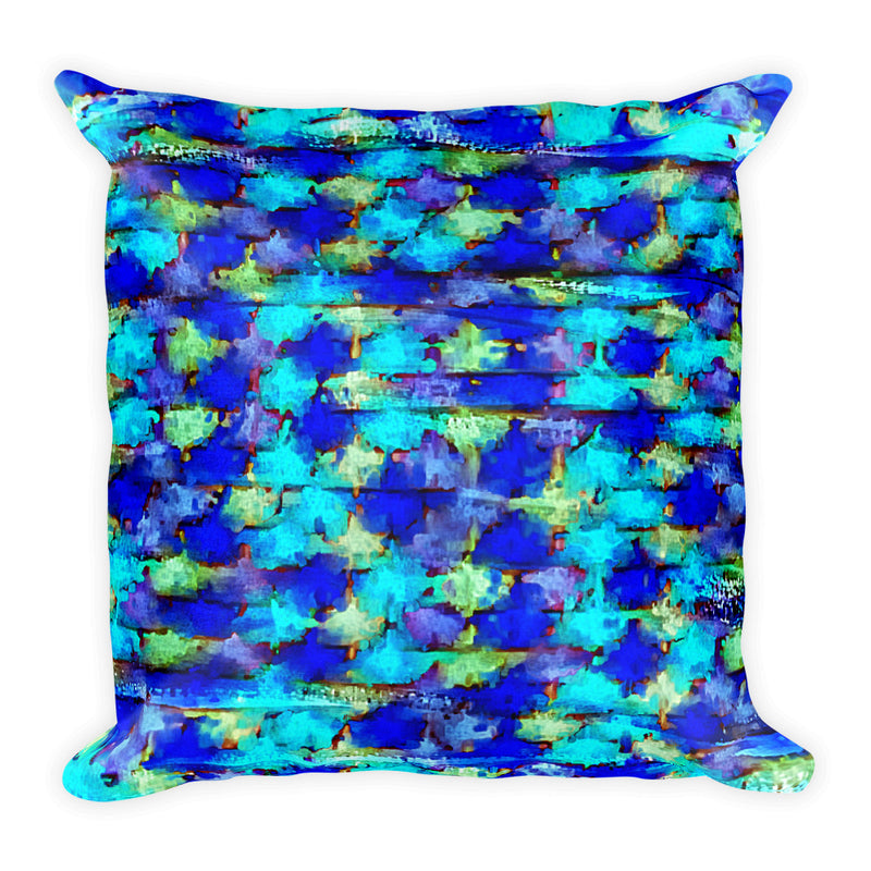Speed Painting Square Pillow 18