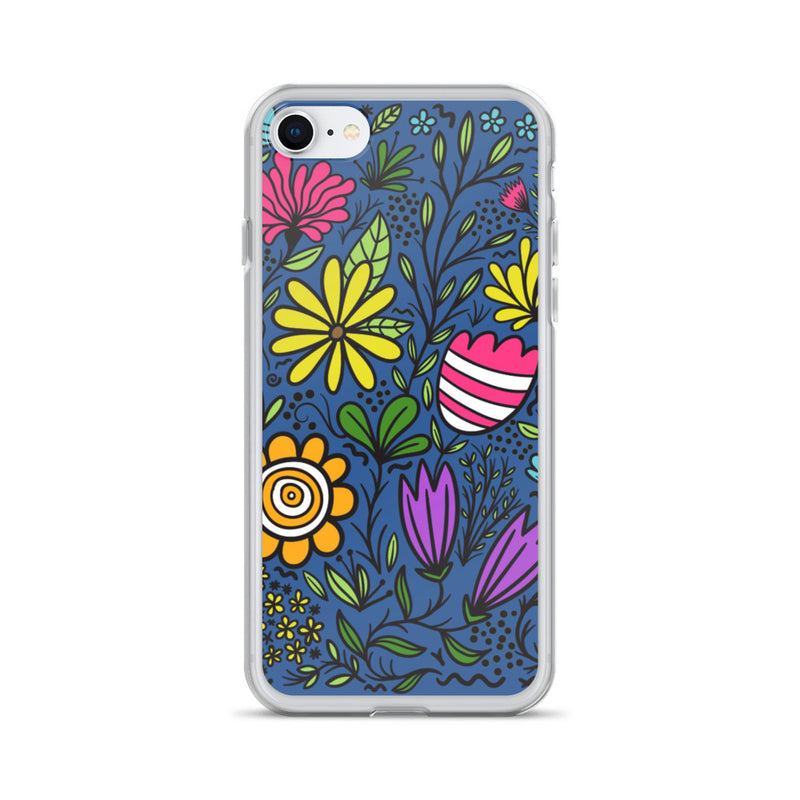 Groovy Flowers iPhone Case