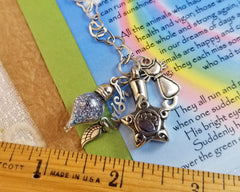 Cat Loss Cremation Pendant - Facing the Gate of Heaven