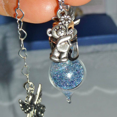 Forever Child Loss or Miscarriage - Charm Closeup
