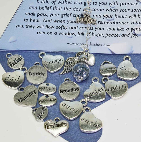 Tears of Remembrance - Waterdrop - Charms
