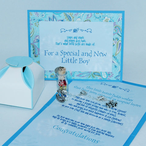 complete package elements of baby boy wish gift