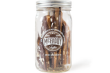 16oz jar of handmade Himalayan Dark premium toffee