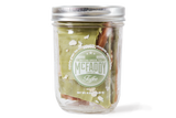 8oz jar of handmade Matcha Green Tea all natural toffee