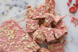 assorted pieces of all natural handmade toffee