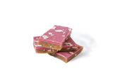 Pieces of handmade Strawberry Kiss premium toffee